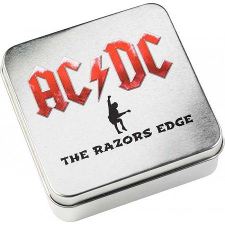 10 Dollar Stříbrná mince -AC/DC - The Razors Edge BP