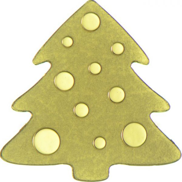 Goldener Christbaum
